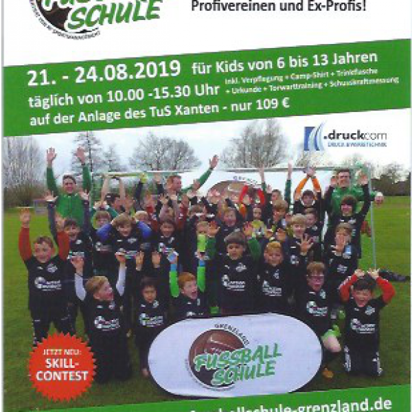 Fussball-Sommercamp